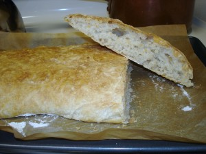 Beautiful ciabatta bread